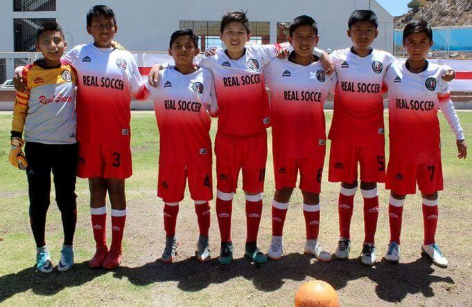 Real Soccer categoría sub-12 promete mejorar.