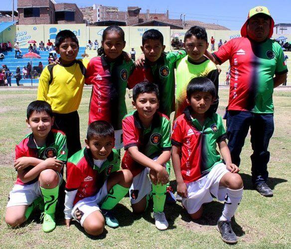 FBC Leones del Sur categoría sub-9 logró un buen empate.