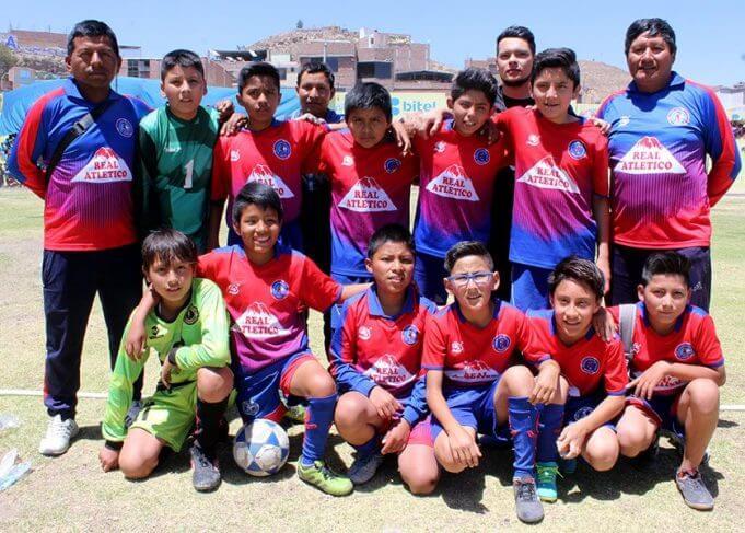 Real Atlético de Hunter categoría sub-12 la luchó.
