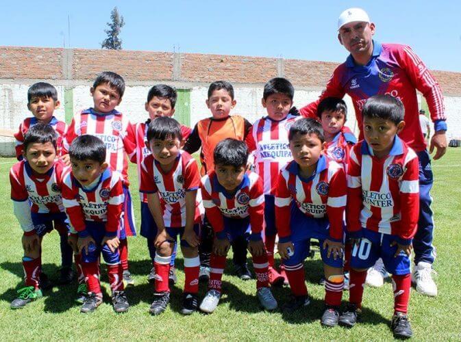 Atlético Hunter ganó bien en la categoría sub-5.