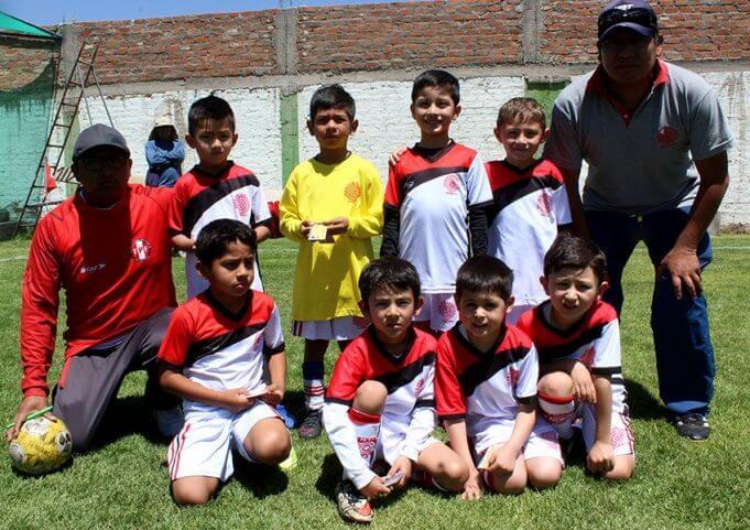 Club Internacional categoría sub-6 luchó su encuentro.