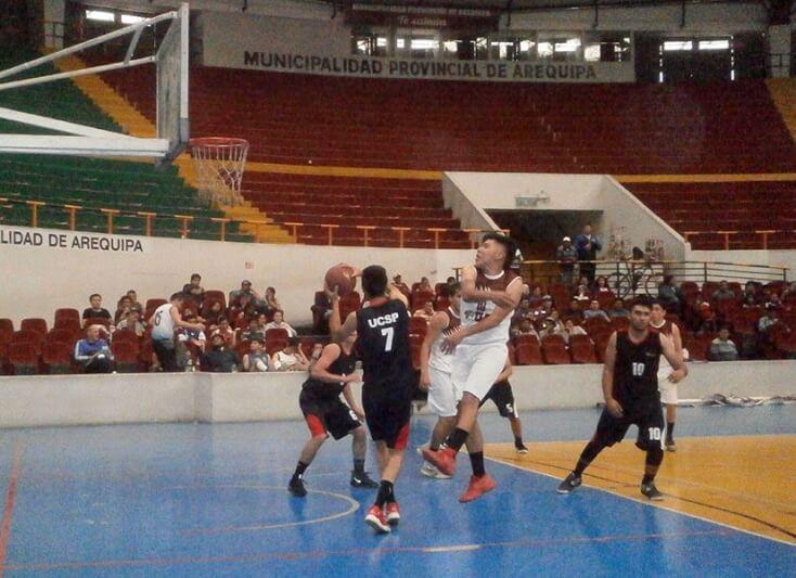 Universidad Católica San Pablo ganó torneo de básquet de la Liga Universitaria de Arequipa. Derrotó al Alas Peruanas