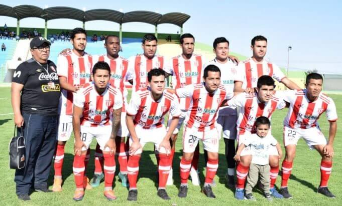 Nacional visita a Juventud Alba Roja en Tacna.