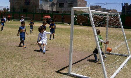 menores. Jornada de buenos partidos en Creciendo con el Futbol