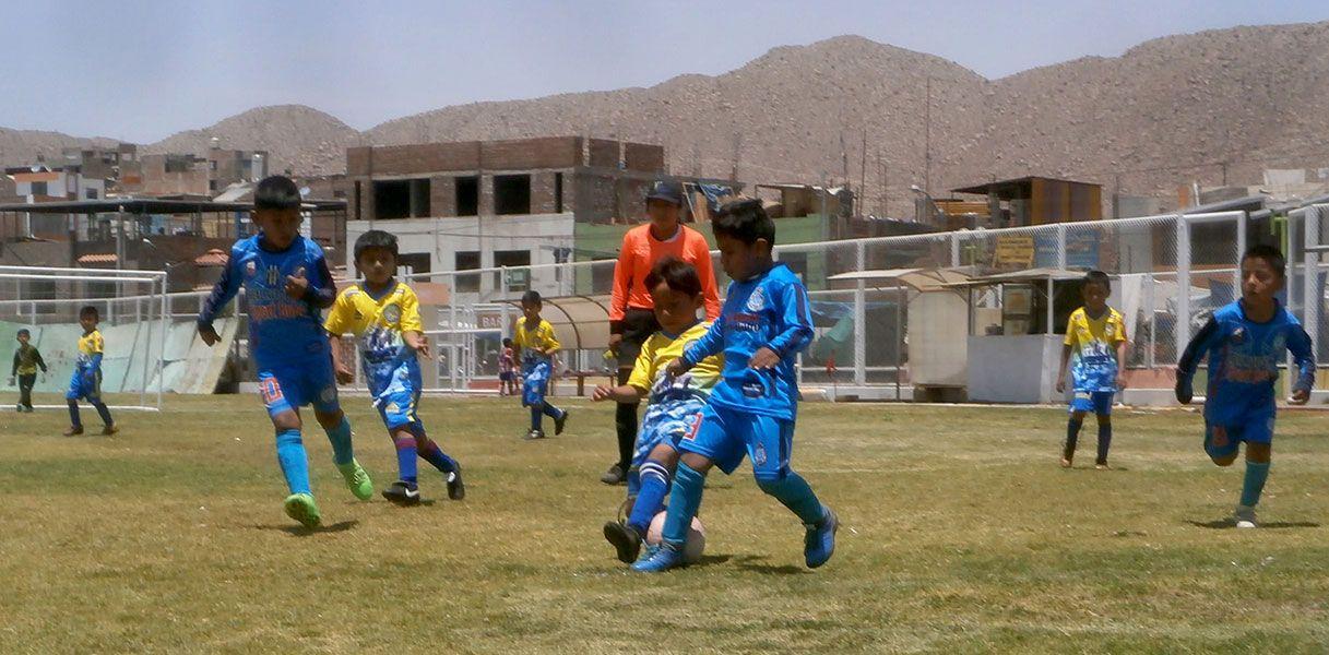 En Hunter se jugó partido de Creciendo con el Fútbol.