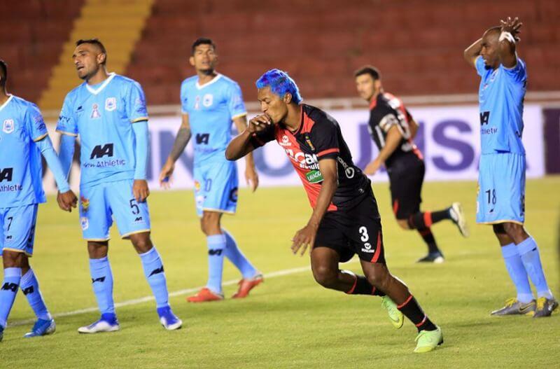 Anoche, en la Unsa, rojinegros derrotaron 1-0 a Binacional