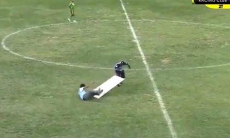 Un hecho insólito se registró en el duelo entre Racing Club y Sport Áncash por la Copa Perú 2019.