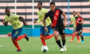 Perú y Clombia se medirán en segundo amistoso Sub 23.
