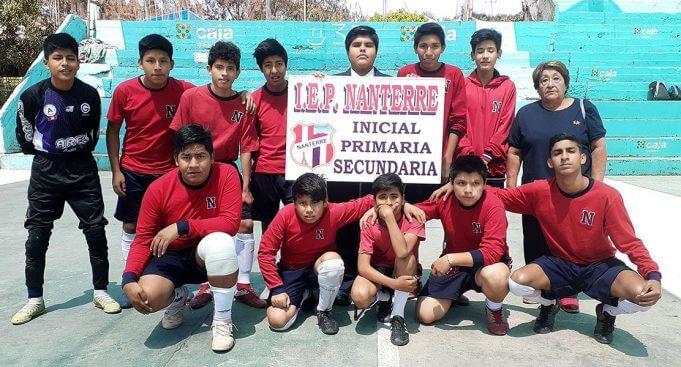 El colegio Nanterre de Cerro Colorado da amplio apoyo a sus deportistas.