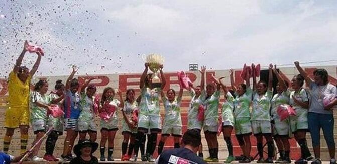 Municipalidad de Majes se coronó campeón de la Copa Perú Femenina 2018