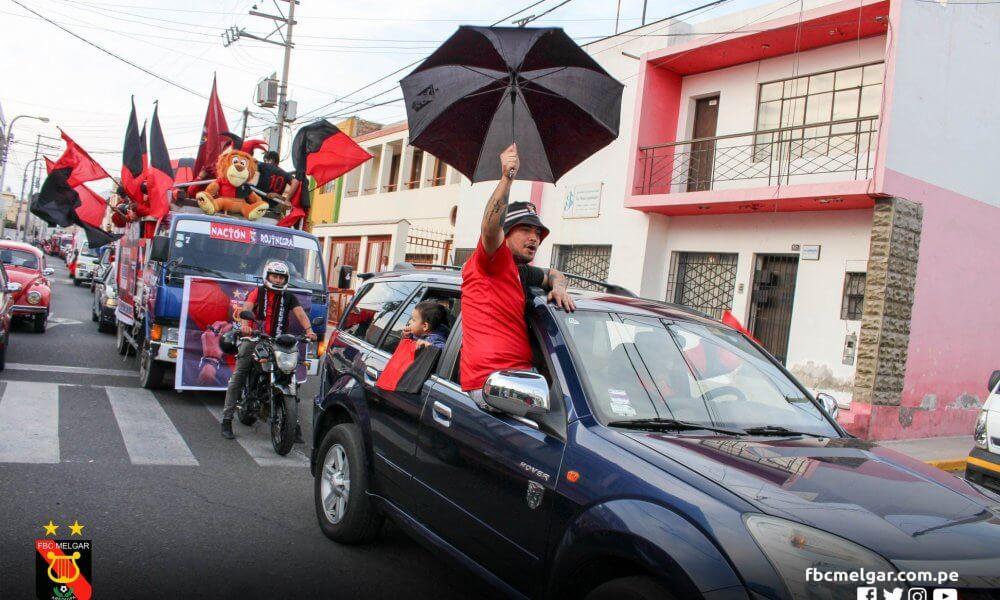 planificación. Buen porcentaje de hinchas de Melgar estaría viajando a Bolivia.