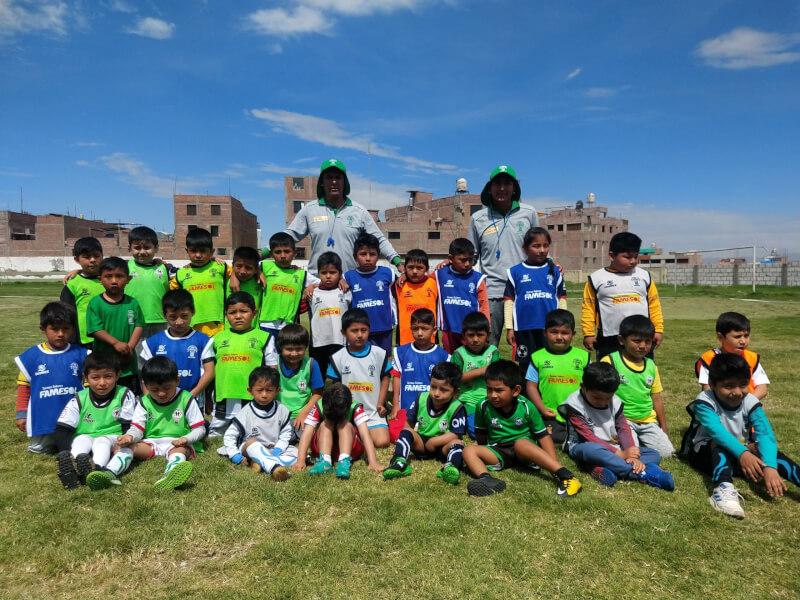 TRABAJO. Comenzaron los entrenamientos en las academias de menores del Sportivo Huracán