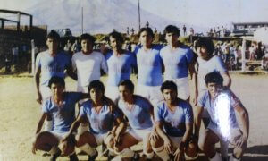 Foto de recuerdo de Aragonés 1983.