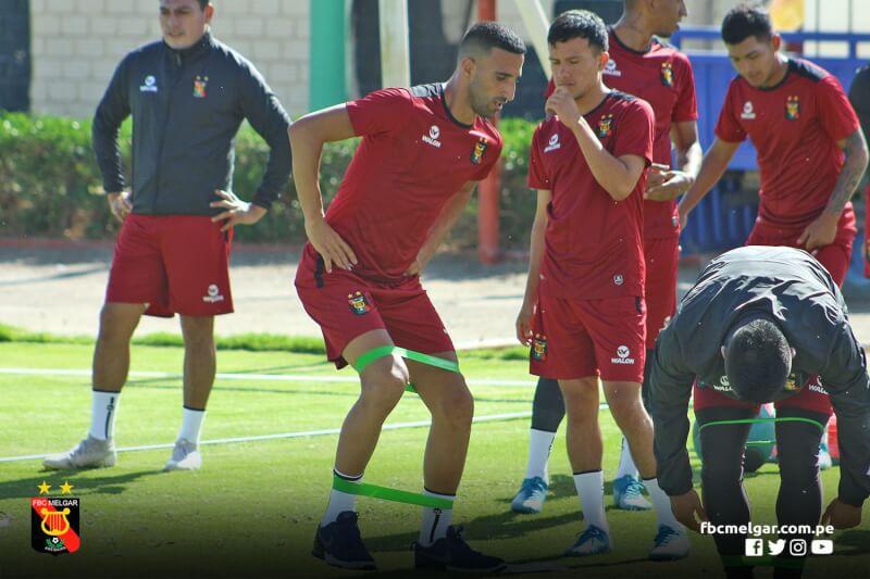 REFUERZO. Melgar fichó al experimentado Hernán Dario Pellerano, el argentino no jugó por un año por estar lesionado