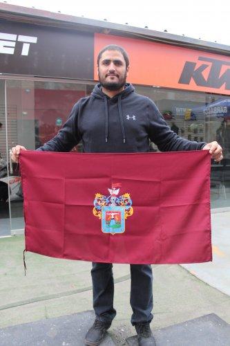 Arequipeño culminó la etapa 6 del rally.