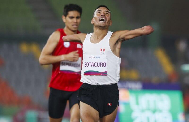Atletismo. Efraín Sotacuro se entrena para Juegos Paralímpicos de Tokio 2020