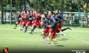 PREPARACIÓN. El Dominó se enfrenta a Cusco FC en la Ciudad Imperial.