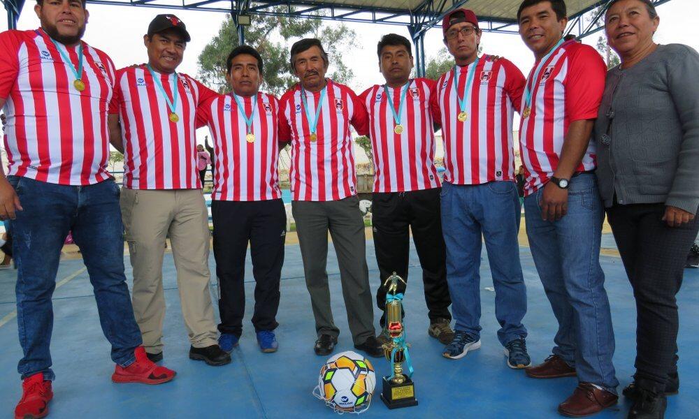 Anexo de Yanayaco, campeón de fútbol sénior.