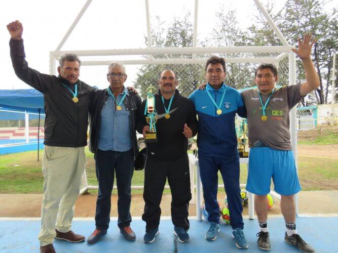 En fútbol máster, campeonó la escuadra de Cultural.