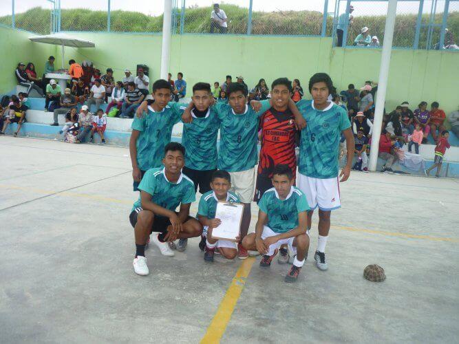 Cuadro Juventud Sabandía, categoría sub-18.