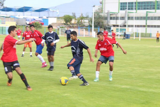 Equipo viene desarrollando entrenamientos.