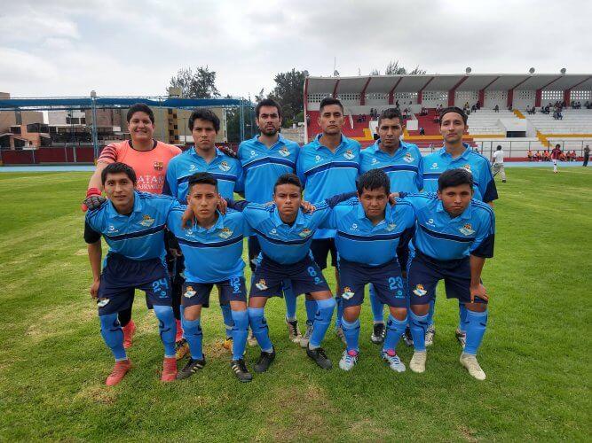 Los jugadores del Real Fátima antes del encuentro.
