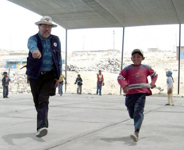 Pancho Arias está ligado desde siempre a la promoción del deporte.